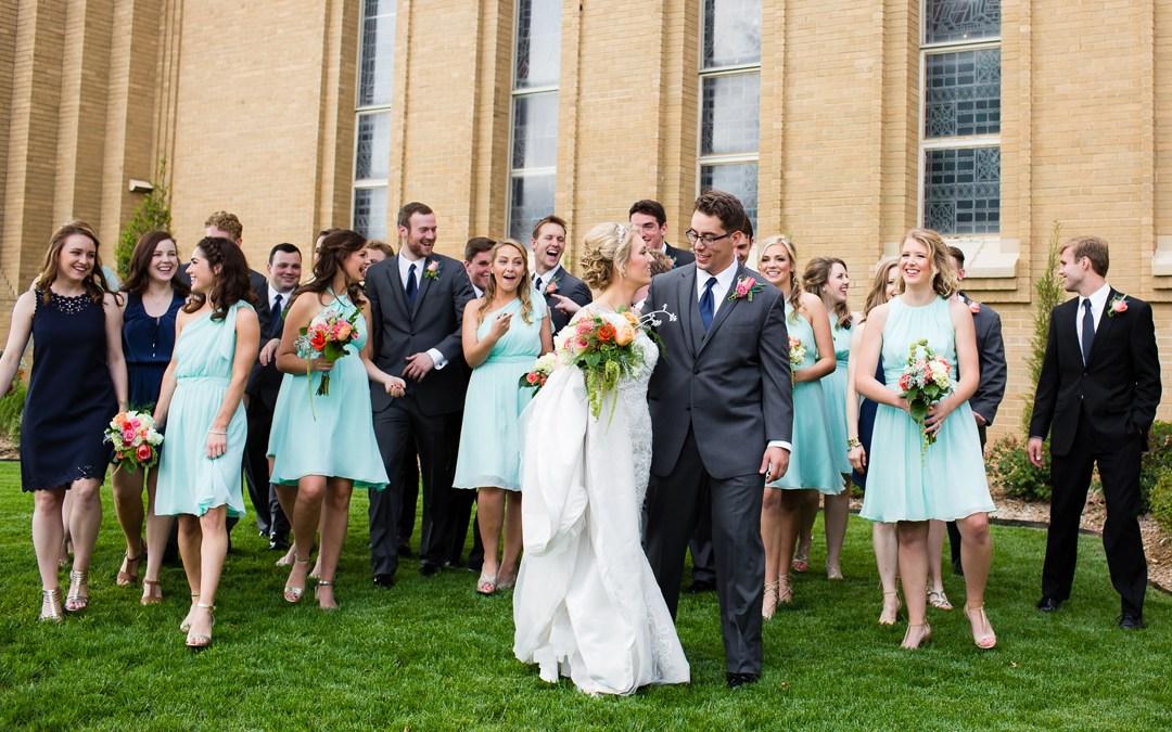 Abby + Jimmy | Christ the King Catholic Church Wedding, Cain's Ballroom Reception | Tulsa, Oklahoma