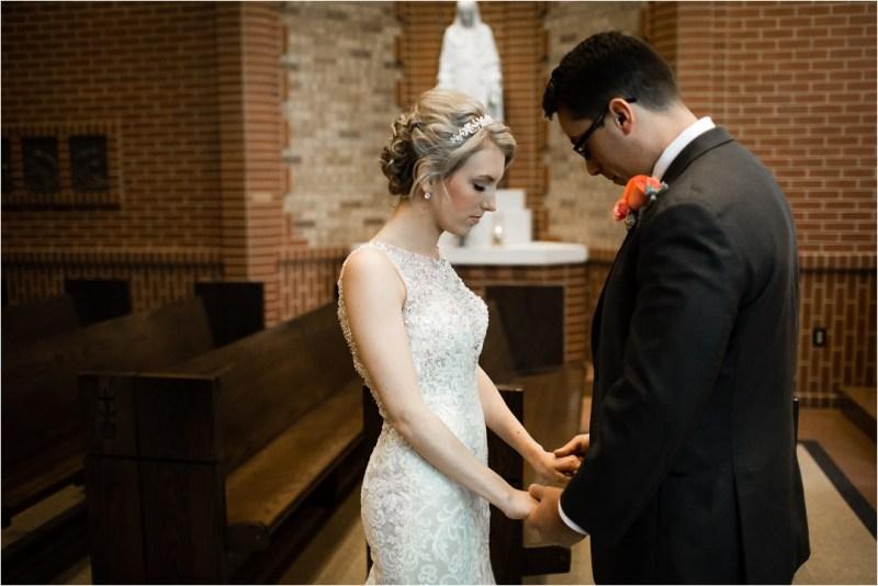 Christ the King Catholic Church Wedding Cain's Ballroom Reception Tulsa Oklahoma_0019