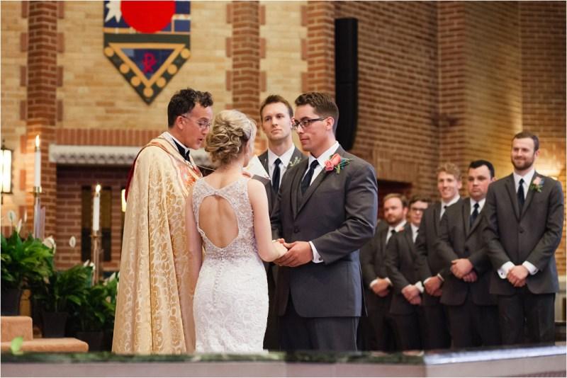 Christ the King Catholic Church Wedding Cain's Ballroom Reception Tulsa Oklahoma_0081