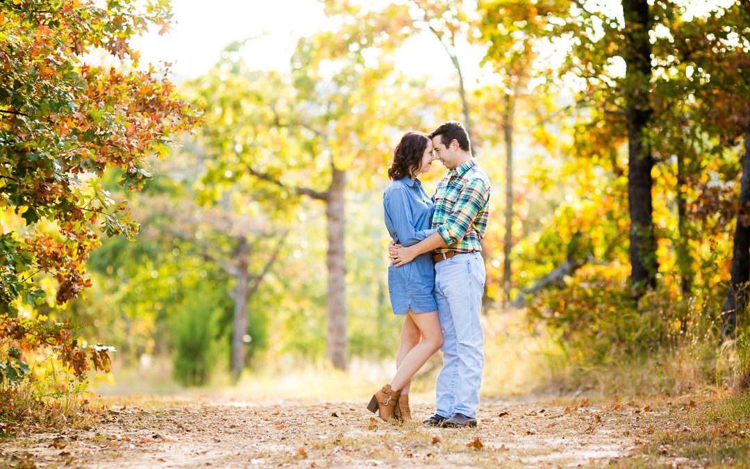 Kaleigh + Owen | Picturesque Studios Engagement Tulsa, Oklahoma