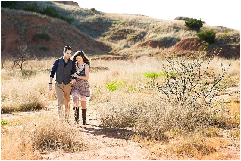 Gloss Mountain State Park Engagement Session Enid Oklahoma Tulsa Wedding_0043