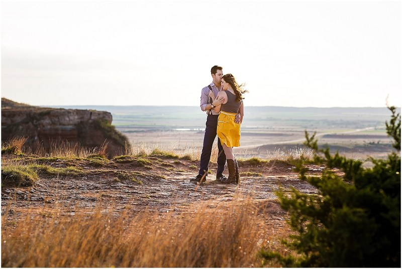 Gloss Mountain State Park Engagement Session Enid Oklahoma Tulsa Wedding_0075