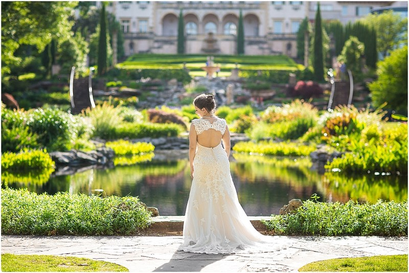 Philbrook Museum of Art Wedding Bridal Picturesque Photos by Amanda_0007