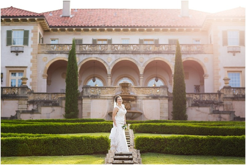 Philbrook Museum of Art Wedding Bridal Picturesque Photos by Amanda_0012