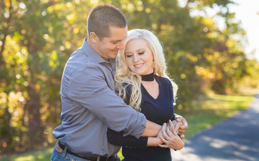 Amanda + Dan | Picturesque Studios Engagement | Tulsa, Oklahoma