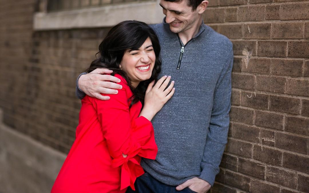 Sarah + Colt | Downtown Tulsa and Picturesque Studios Engagement