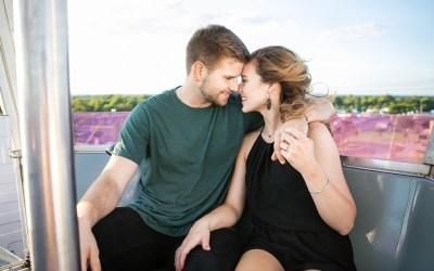 Macy + Gabe | Tulsa State Fair Engagement