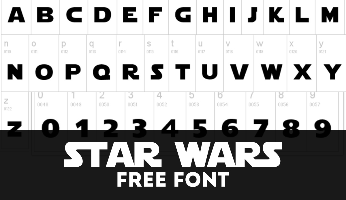 Download Now Free Star Wars Font