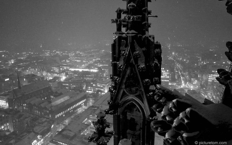 Blick von der Domspitze