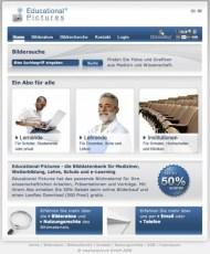 medicalpicture Website Cluster, Microsites für das Bildmarketing