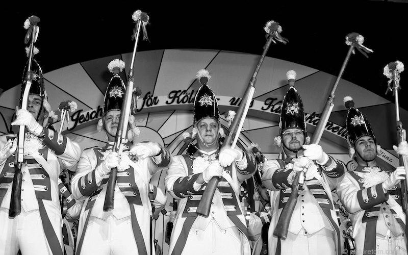 Garde im Karneval