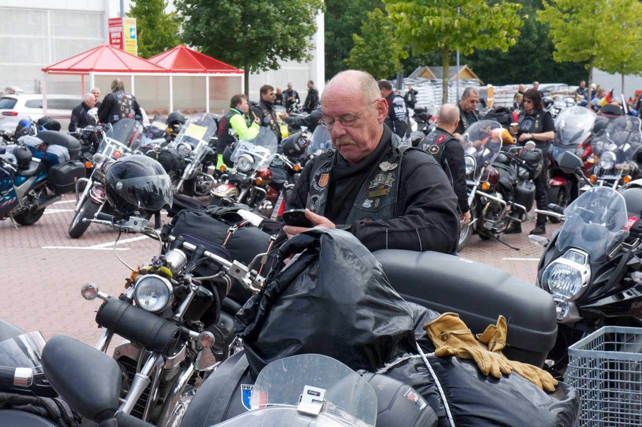 Biker Union Konvoi 2015