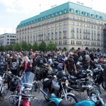 Sternfahrt der Biker Union