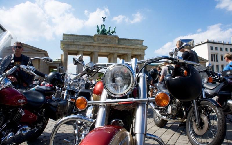 Abschluss Sternfahrt Biker Union