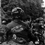 Biker of Biker Union, parade 2015