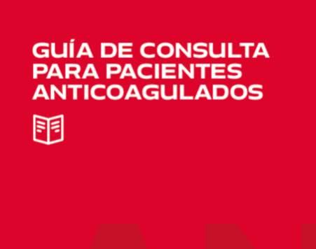 Guía de consulta para pacientes anticoagulados