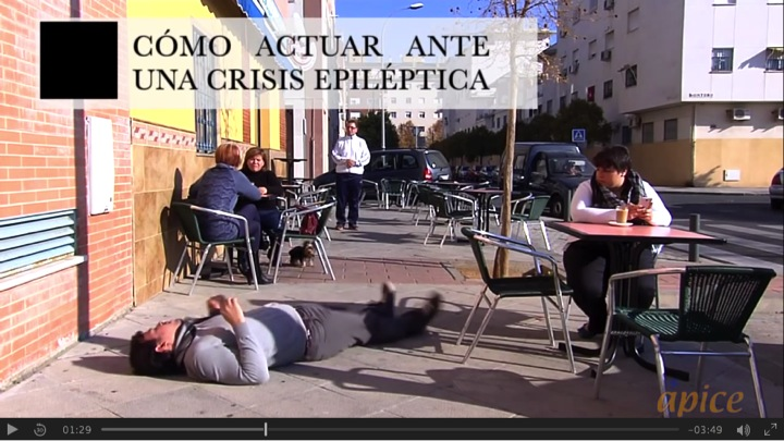 Cómo actuar ante una crisis epiléptica