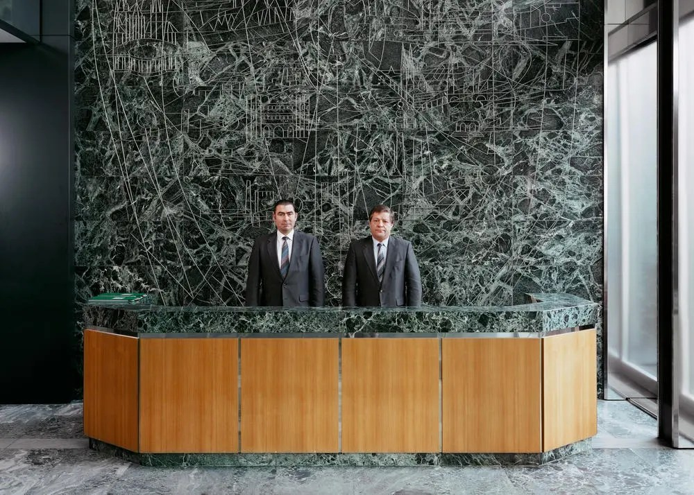 Andreas Gursky - security Guards 1982 - 1985
