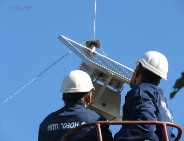 У Маріуполі про небезпеку будуть повідомляти гучномовці, які працюють на сонячних батареях