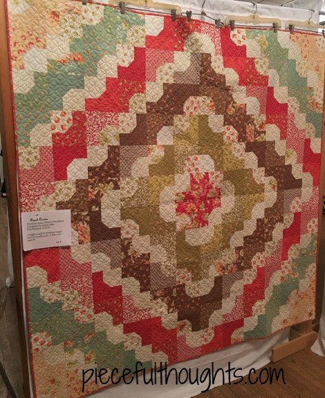 French Quarter by Sharon Detert, Northfield Quilt Show 2017