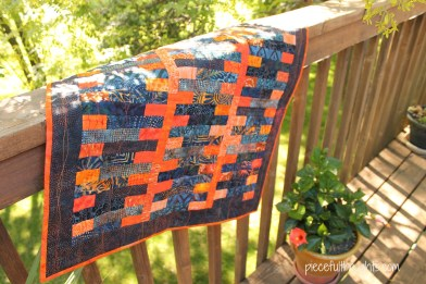 Mini Quilt - piecefulthoughts.com
