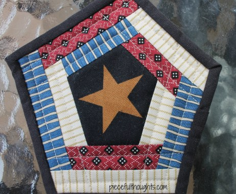 Small Finish - Quilting Detail - piecefulthoughts.com