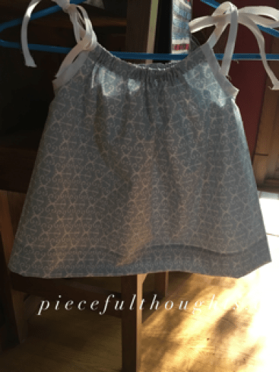 Pieceful Monday - pillowcase dress - piecefulthoughts.com