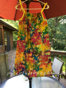 Wandering Wednesday - pillowcase dress - piecefulthoughts.com