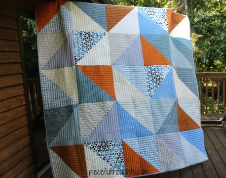 Wedding Quilt - piecefulthoughts.com
