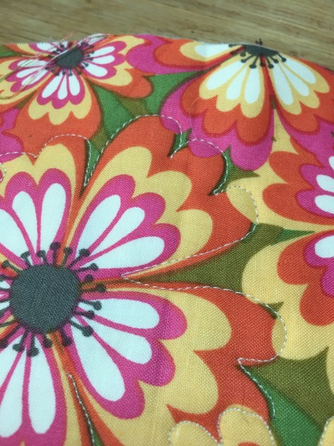 This and That Wednesday - free motion quilting practice - piecefulthoughts.com 2018