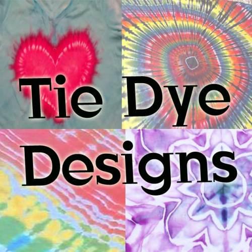 Tie Dye Designs