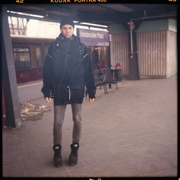studentIn, special, ringbahn, portrait, friedrichshain, fabi, berlin, berghain - Pieces of Berlin - Collection - Blog