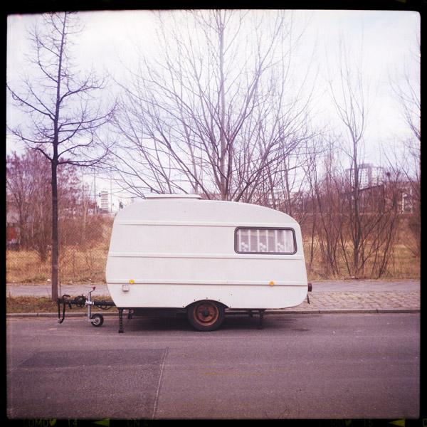 trailer, berlin , friedrichshain
