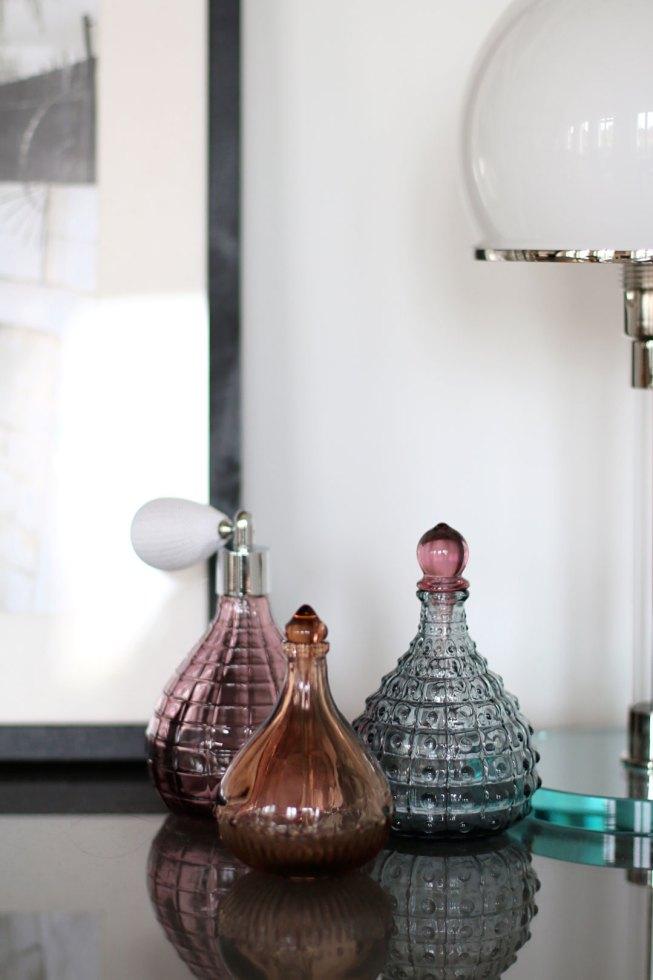Dekorative Parfümflaschen