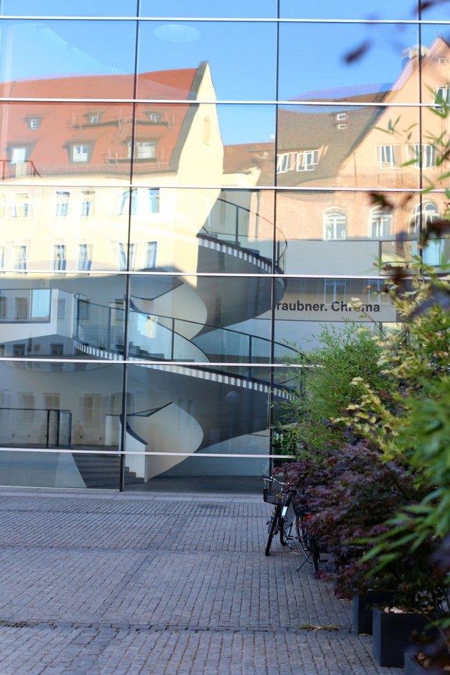 Fassade Das Neue Museum Nürnberg