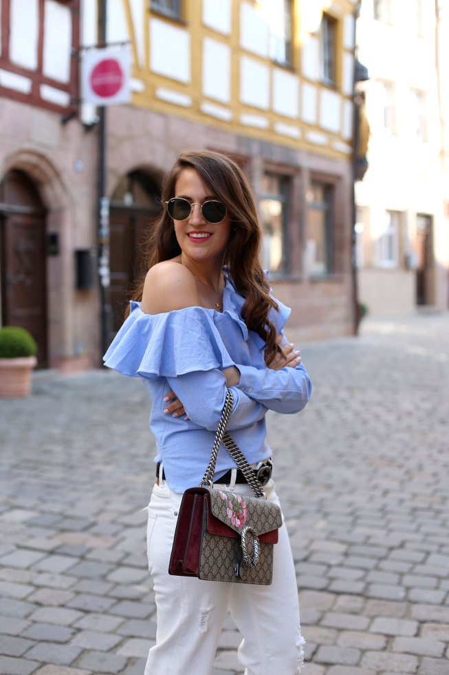 Tschüss Off Shoulder, Hallo One Shoulder Trend