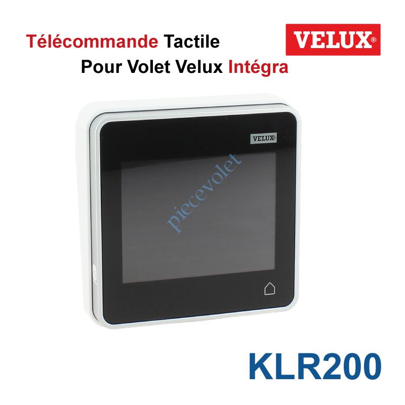 Velux France Klr200 Telecommande Tactile Klr 200 Pour Velux Integra