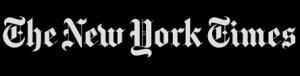 NY Times Logo - Reverse Type