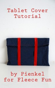 Tablet Cover Tutorial by Pienkel