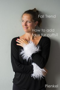 Faux Fur Cuff Tutorial by Pienkel for UpCraft Club