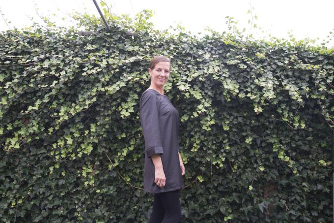 Remix the Stitch - Ravenna Top to Tunic - Pattern by StraightStitch, sewn by Pienkel. www.pienkel.com