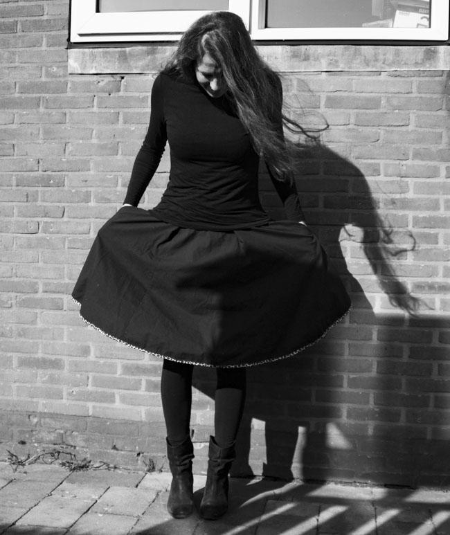 Dyyni Ladies Skirt Pattern - Pattern by Pienkel, available at www.pienkel.com 21