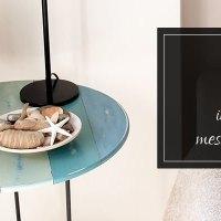mesita lindved, cómo tunear muebles de ikea