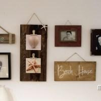 DIY- Portafotos de madera reciclada de palet