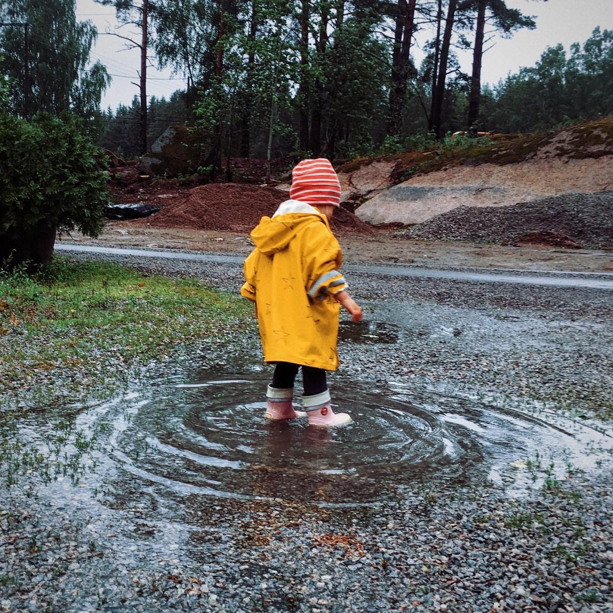Mitä jos vappuna sataa?