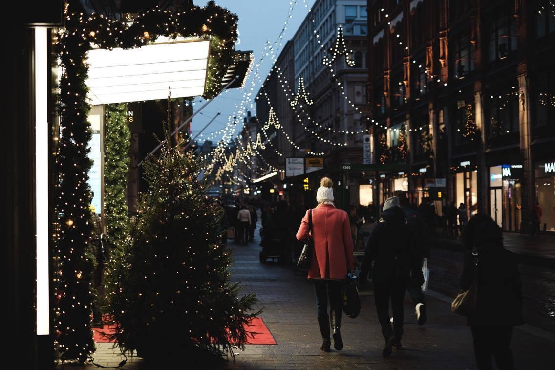 Joulu ja uusivuosi Helsingissä 2017