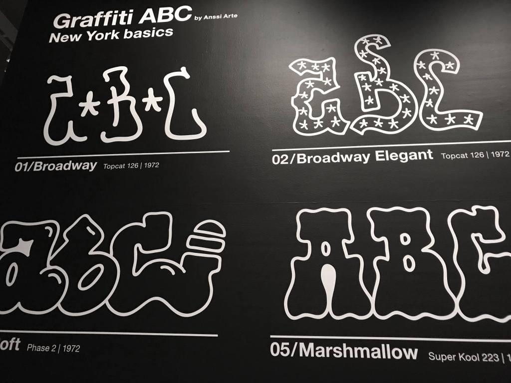 HAM Helsingin Graffiti-näyttelyssä pääsee suunnittelemaan myös oman tagin.