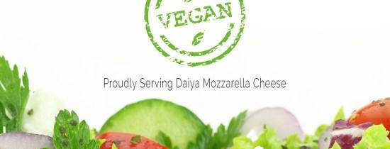 Now Offering Vegan Cheese