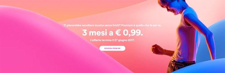 Spotify Premium in promozione