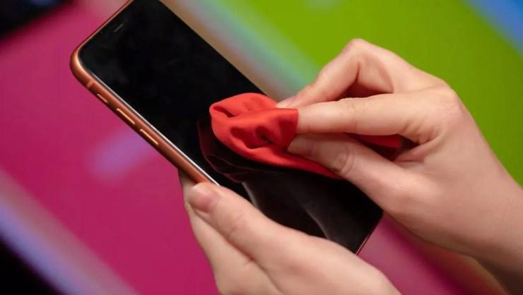 Pulire lo smartphone